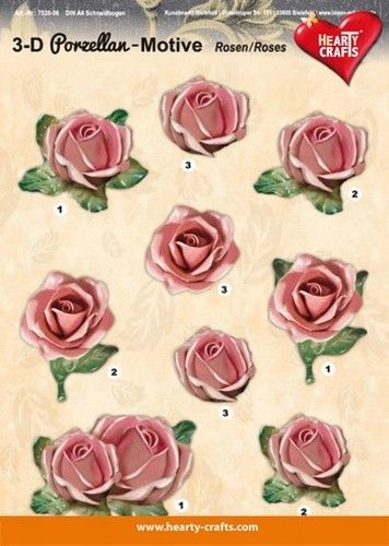 Hearty Crafts knipvel bloemen 572006 (Locatie: 5622)