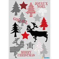 Herma stickers vrolijk kerstfeest 3 vel 15267 (Locatie HE029)