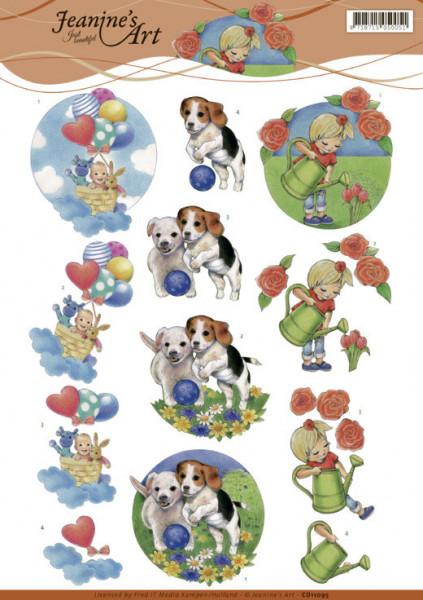 Jeanine's Art knipvel allerlei CD11095 (Locatie: 2660)