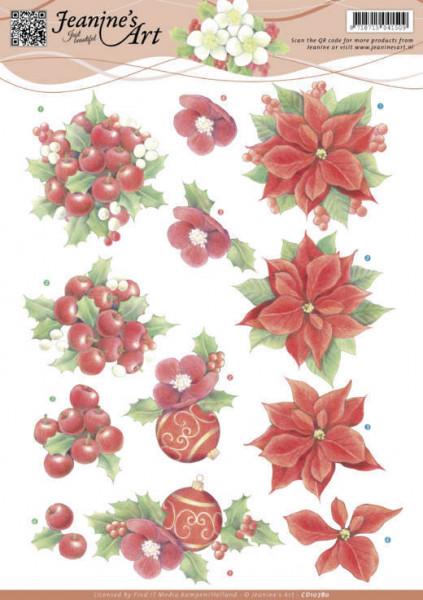 Jeanine's Art knipvel kerstmis CD10780 (Locatie: 5563)