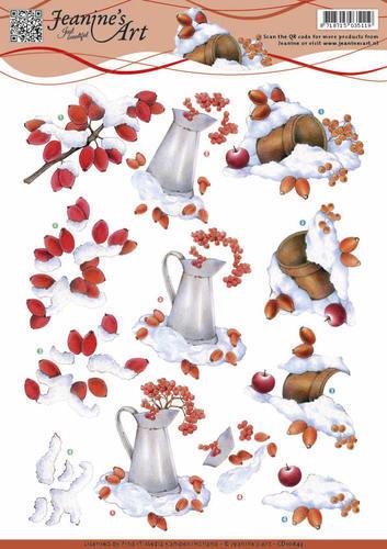 Jeanine's Art knipvel winter CD10843 (Locatie: 2447)