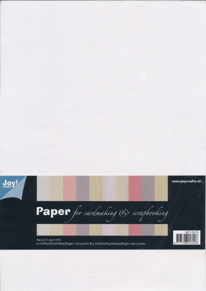 Joy! Papierset A4 Structuur 10 vel 8011/0418 (Locatie: 1455)
