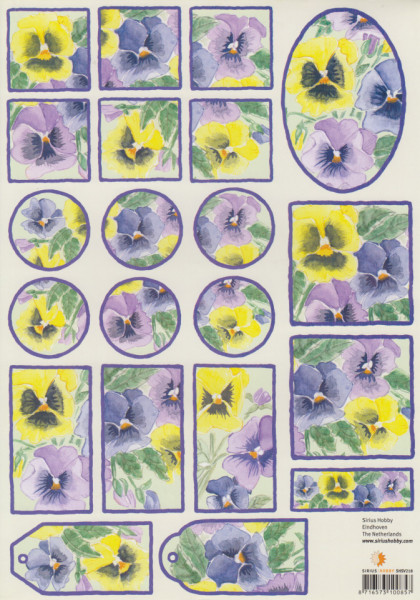Knipvel bloemen SHSV218 (Locatie: 1339)