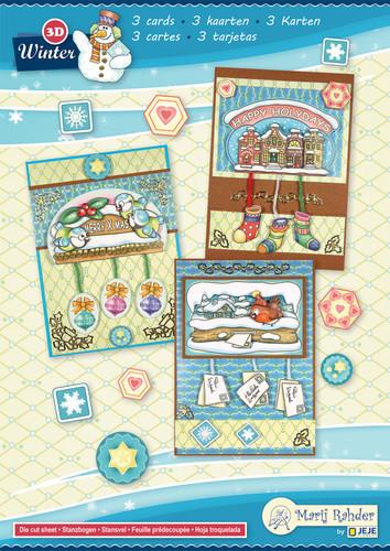 Marij Rahder kaartenpakket winter 9.0085 (Locatie: 0930)