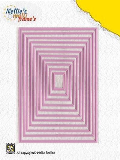 Nellie Snellen Multi Frame straight rectangle MFD058 (Locatie: B315 )