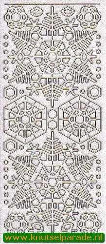 Stickervel glitter goud transparant 7054 (Locatie: G058)