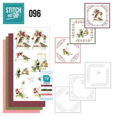 Stitch and DO 96 Winter Birds STDO096
