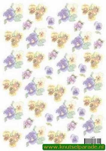 Vellum bloemen 8802T (Locatie: 2707)