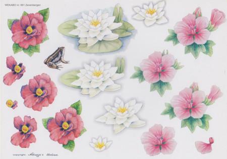 Wekabo knipvel bloemen 661 (Locatie: 1441)