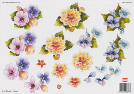 Wekabo knipvel bloemen 676 (Locatie: 5539)