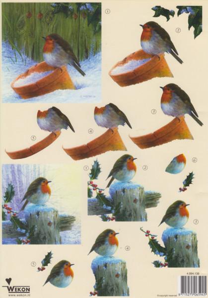 Wekon knipvel vogeltje 4.994.138 (Locatie: 0215)