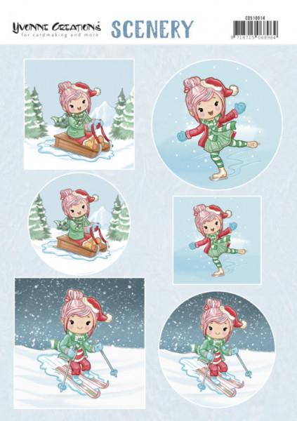 Yvonne Creations wintersport CDS10014 (Locatie: 0427)