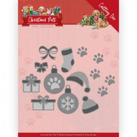 Amy Design snijmal Christmas Pets - Christmas Decorations ADD10215 (Locatie: M042)