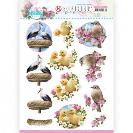 Amy Design stansvel Birds SB10540 (Locatie: 0350)