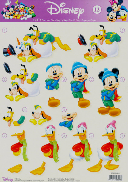 Disney knipvel STAPDIS12 (Locatie: 2752)