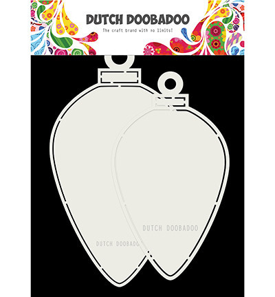 Dutch Doobadoo Card Art stencil A5 kerstmis 470.713.730 (Locatie: 2397)