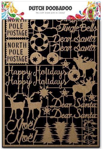Dutch Doobadoo Dutch Paper Craft Art Christmas 479.002.012 (Locatie: 1725)