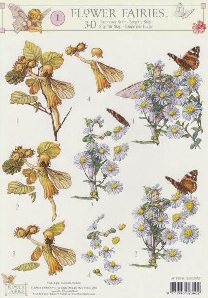 Flower Fairies knipvel 3DFFSTAP01 (Locatie: 0724)