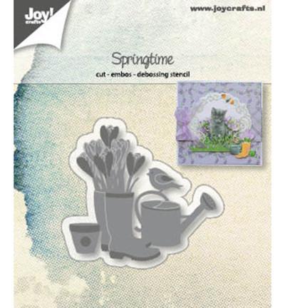 Joy! Crafts snij- embos- en debosmal Lente 6002/1261 (Locatie: M018)