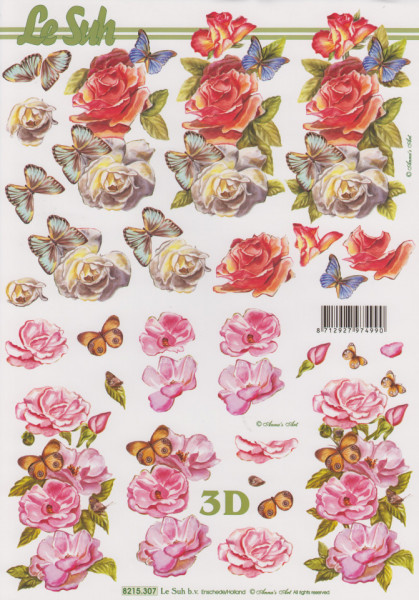 Le Suh knipvel bloemen 8215307 (Locatie: 1623)