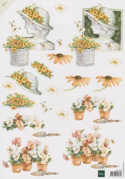 Marianne Design knipvel bloemen MB0098 (Locatie: 0503)