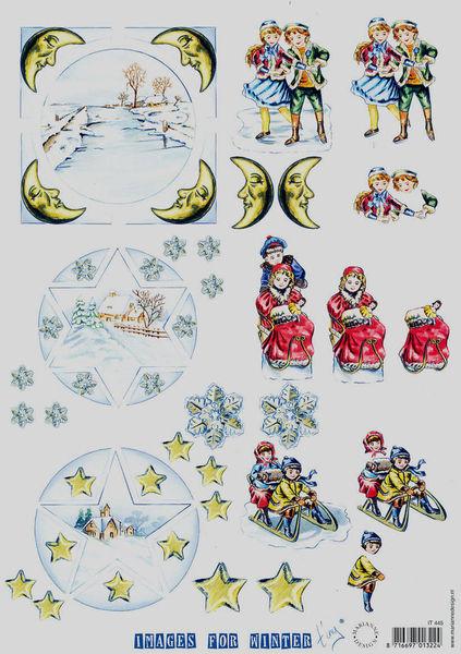 Marianne Design knipvel winter IT445 (Locatie: 2355)