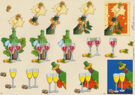 Mireille knipvel kerstmis X3 X21 (Locatie: 1412)