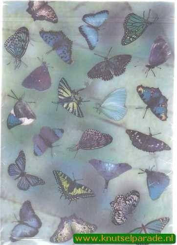 Romak vellum vlinders P2 325 24 (Locatie: 5720)