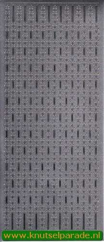 Starform sticker zilver randje 8520 (Locatie: E227 )