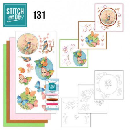 Stitch and Do 131 Birds and Blossom STDO131