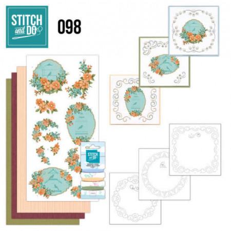 Stitch and Do 98 Vintage Bird Cages STDO098