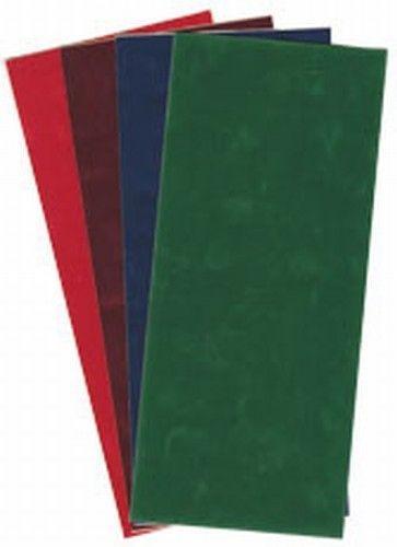 Velvet stickervel effen Rood (Locatie: H437 )