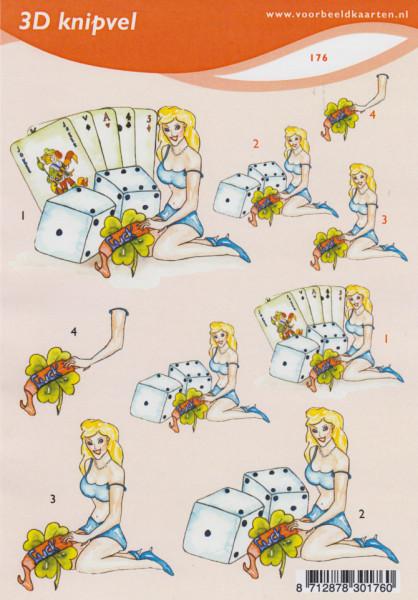Voorbeeldkaarten knipvel A5 nr. 176 (Locatie: 4327)