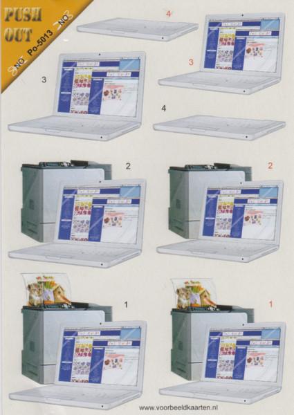 Voorbeeldkaarten stansvel A5 Po-5013 (Locatie: 1219)