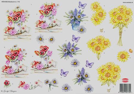 Wekabo knipvel bloemen 779 (Locatie: 5807)