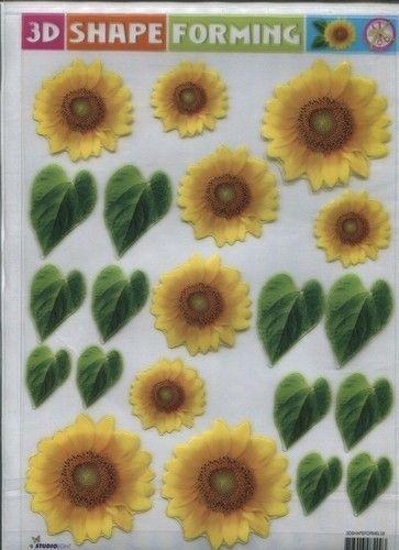 3D Shape Forming bloemen 3Dshapeforms58 (Locatie: 1621)