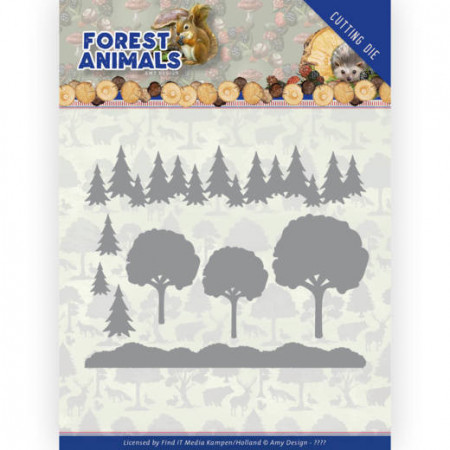 Amy Design snijmal Forest Animals - In the Forest ADD10232 (Locatie: M141)