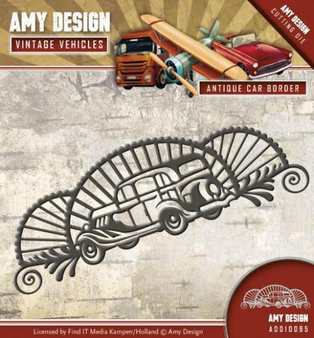 Amy Design snijmal Vintage Vehicles Car ADD10095 (Locatie: i493)