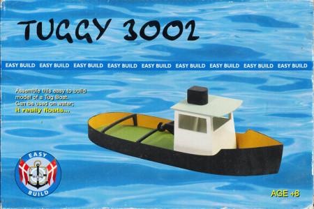 Bouwpakket houten bootje Tuggy 3002 (Locatie: S2)