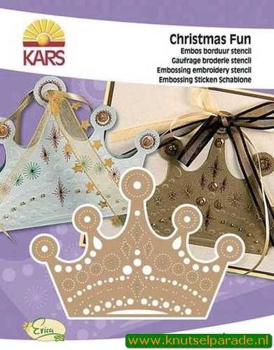 Christmas fun stencil kroon 500000 1902 (Locatie: 5616)