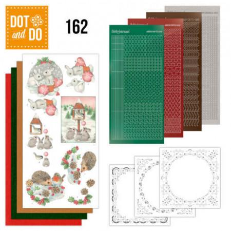 Dot and Do 162 Hedgehog and rabbits DODO162