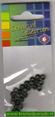 Eyelets donker groen 25 stuks nr. 20407/15 (Locatie: 5RC1 )