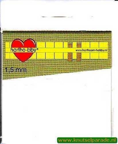 Hartho-bby foampads wit 1,5 mm 64017 (Locatie: K2)