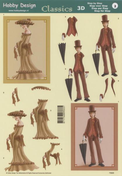 Hobby Design vrouw & man 73020 (Locatie: 1417)