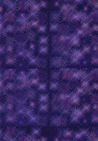 Holografisch karton A4 donker paars (Locatie: 1637)