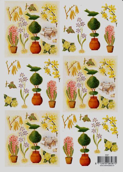 Intertrade knipvel bloemen 8587 (Locatie: 1438)