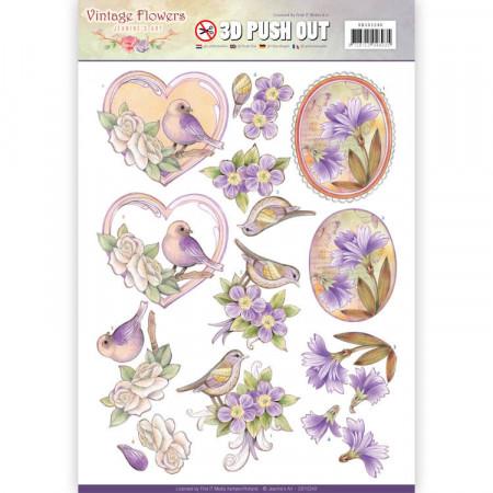 Jeanine's Art stansvel bloemen SB10240 (Locatie: 0423)