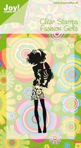 Joy Crafts stempel fashion girls 6410/0088 (Locatie: D124 )