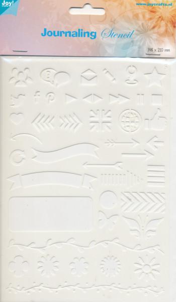 Joy! journaling stencil 6 6002/0873 (Locatie: 1127)