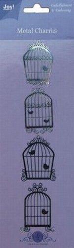 Joy! Metal charms vogelhuisjes 6350/0102 (Locatie: M023)